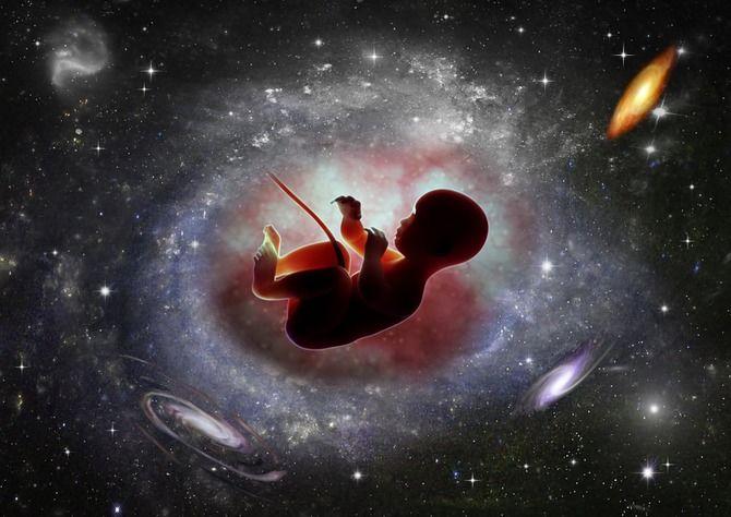 рождение ребенка в космосе