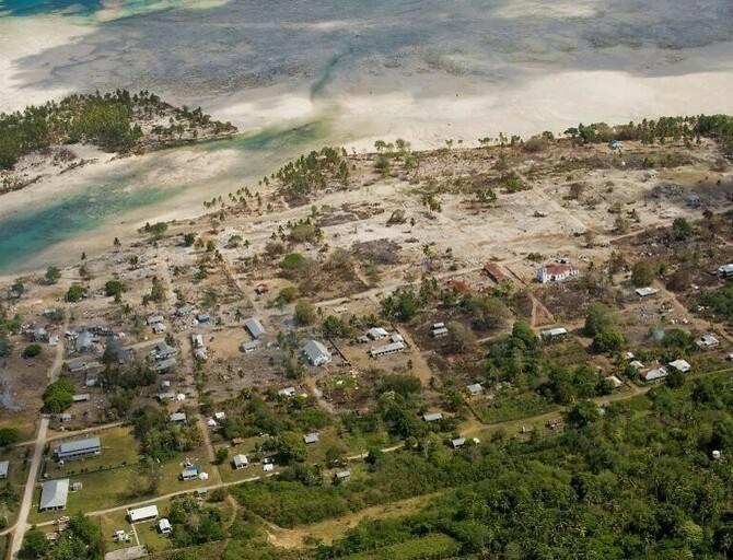 Samoan Islands tsunamis
