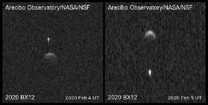 астероид 2020 BX12