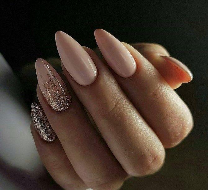 модные длинные ногти