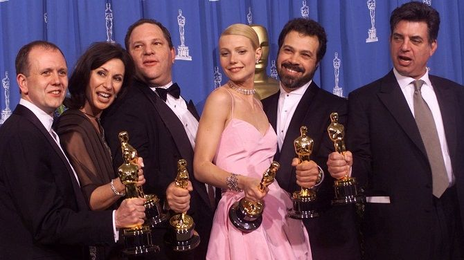 Oscar for Shakespeare in love