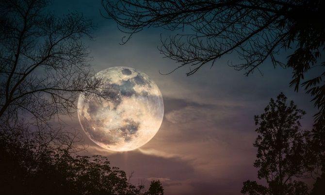 зростаючий Місяць