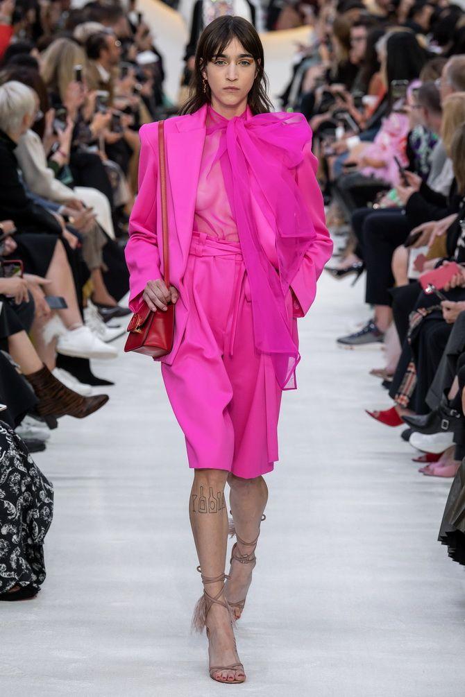 бермуды розовые