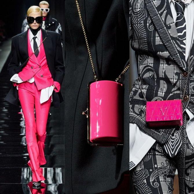 модный показ коллекция Versace