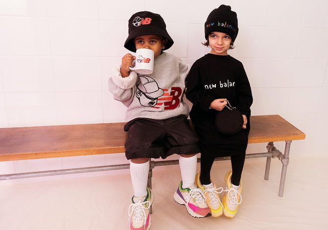 кроссовки для детей от New Balance