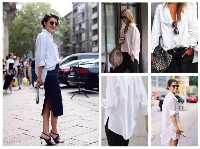 stylish white shirts for women