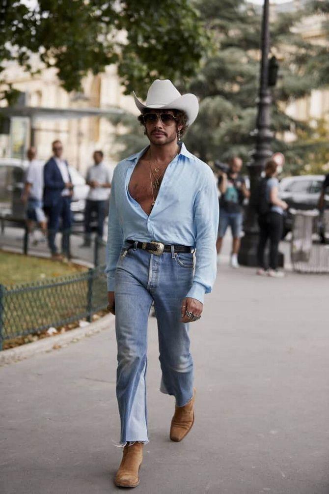 джинсовый стиль для мужчин