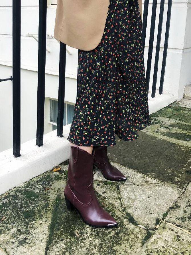 ковбойские ботинки на весну