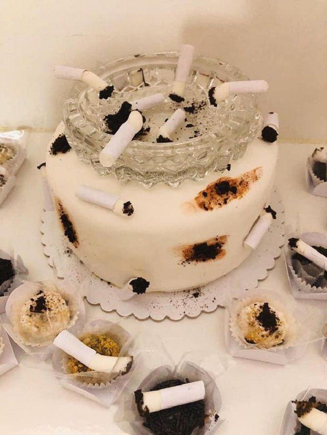 жахливий торт