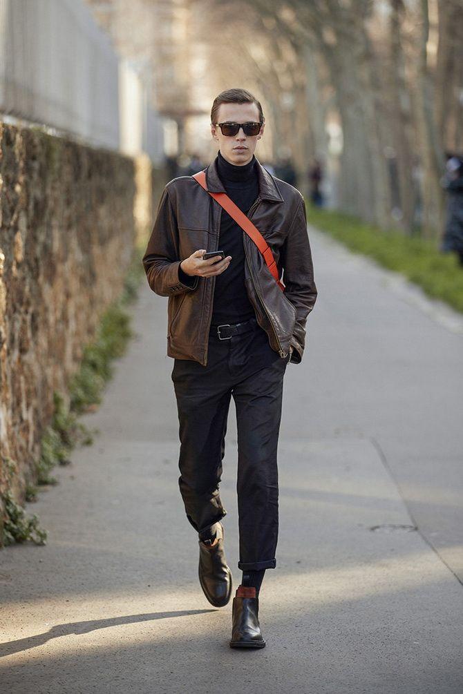 мода мужской одежды