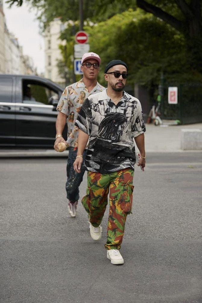 какая сейчас мужская мода