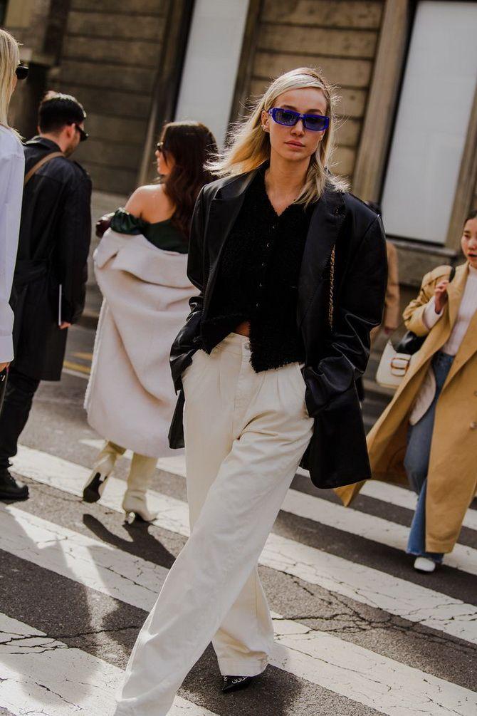 модель пиджака