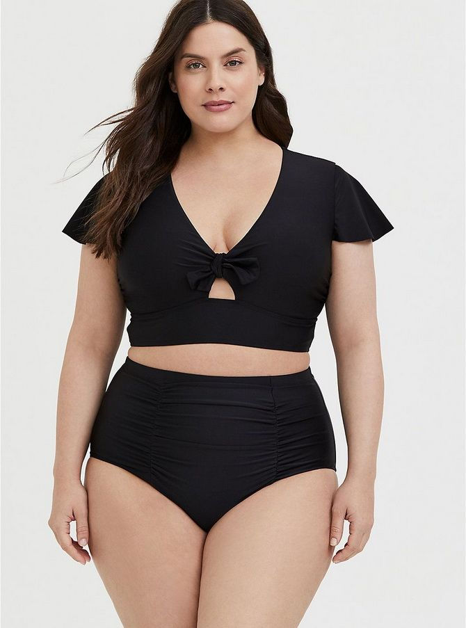 large women's swimwear