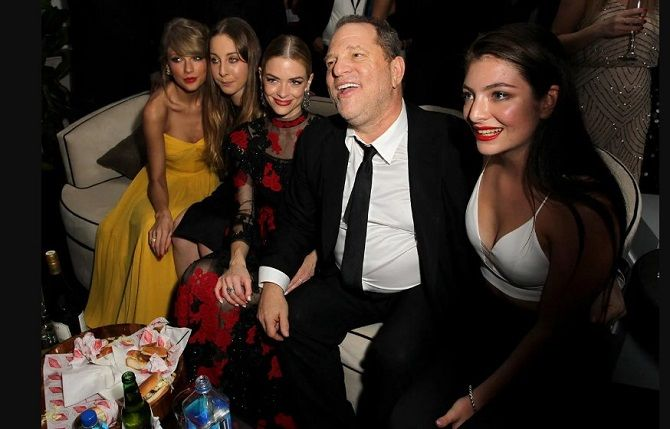 harvey weinstein and girls
