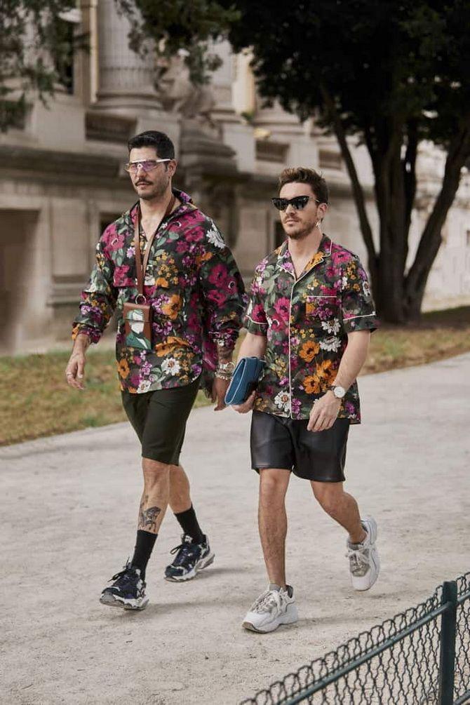 мужская мода весна 2020