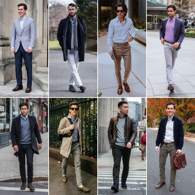 рубашки мужские с длинным рукавом модные