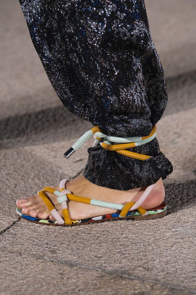 модные летние босоножки 2020 года