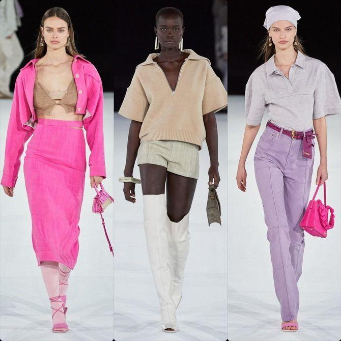 модные показы
