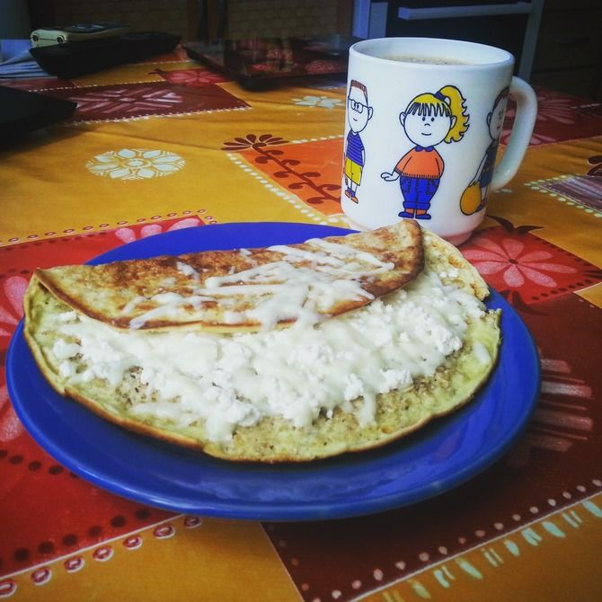 Поживний вівсяномлинець з домашнім сиром