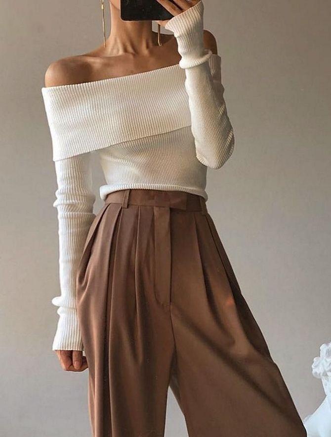 белая кофта