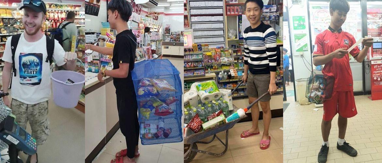 В Таиланде запретили полиэтиленовые пакеты, и теперь шопинг в этой стране стал настоящим испытанием!