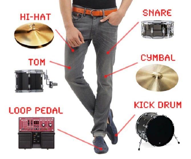 Барабанные брюки