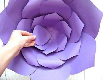 Мистецтво DIY: покрокова схема, як легко і просто зробити квіти з паперу своїми руками 34