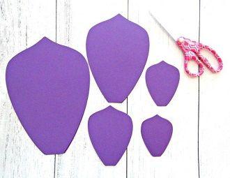 Мистецтво DIY: покрокова схема, як легко і просто зробити квіти з паперу своїми руками 28