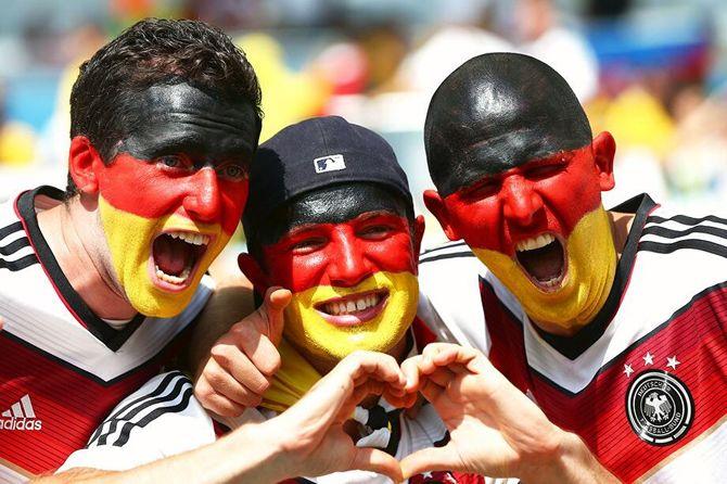 поклонники футбола