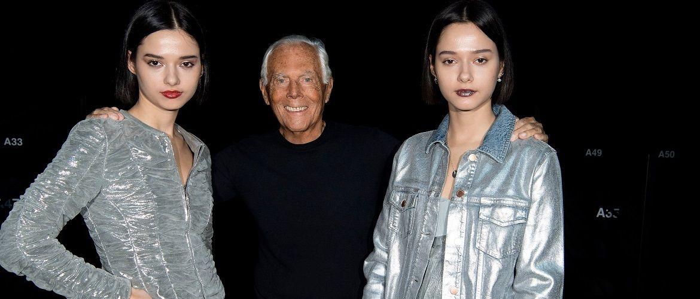 Модный показ Giorgio Armani прошел в пустом зале из-за эпидемии коронавируса