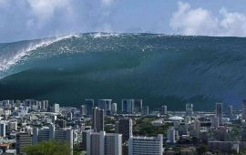 The power of water: the biggest tsunamis over the past 10 years