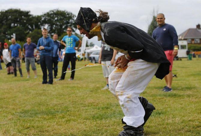 Чемпіонат світу з метання яєць, Великобританія