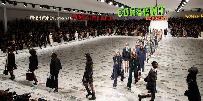 Показ коллекции 2020-2021 от Dior