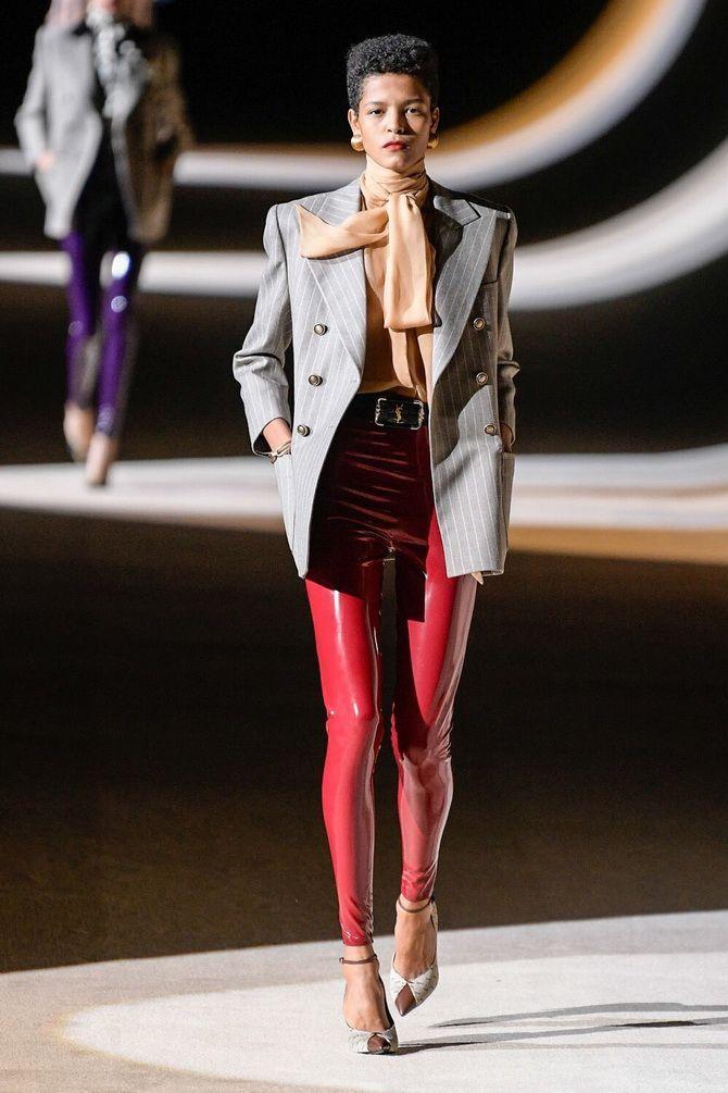 модный показ  коллекции Saint Laurent Fall 2020 RTW