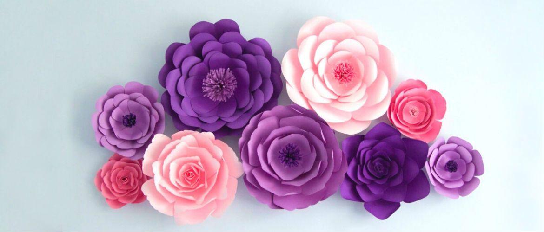 Мистецтво DIY: покрокова схема, як легко і просто зробити квіти з паперу своїми руками