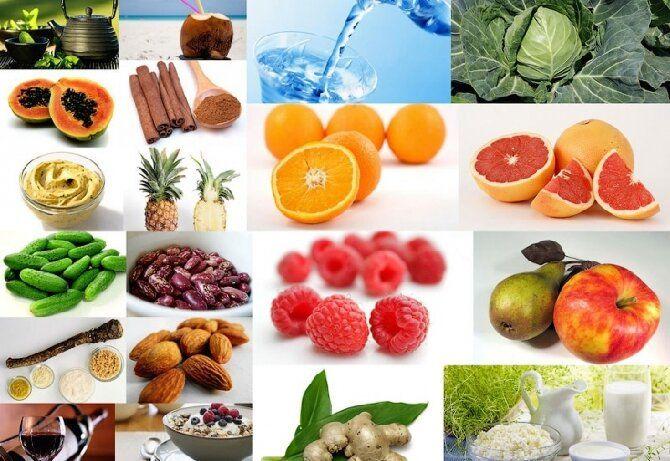 фрукти горіхи