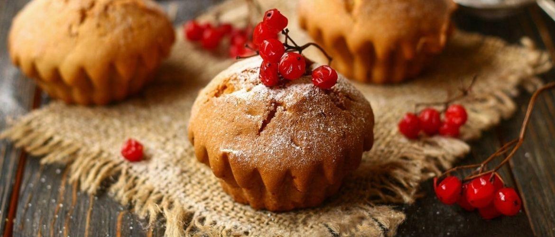 3 рецепта вкусных и простых кексов в духовке