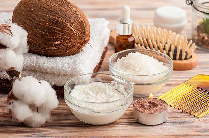 кокосовое масло с солью