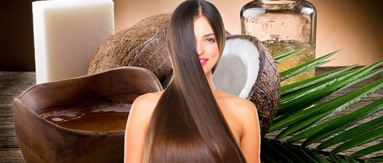 Цілющі маски з маслом кокоса – порятунок для волосся