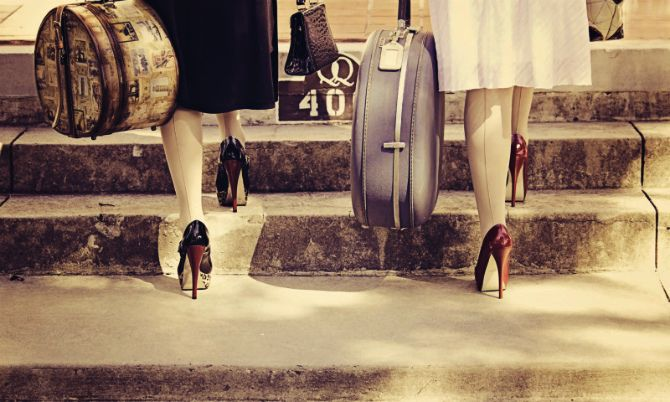 обувь на высоком каблучке