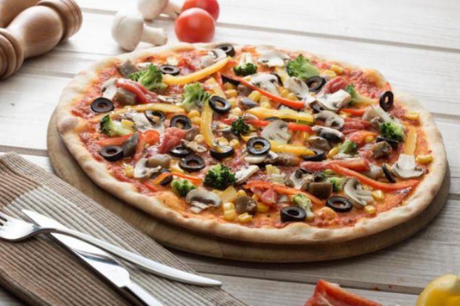 Пицца без мяса