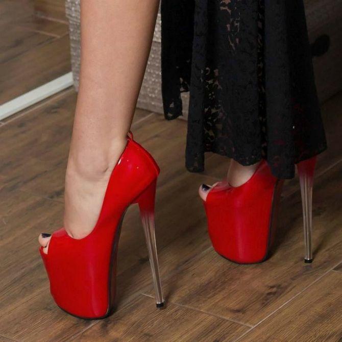 обувь на каблуке 10+ см