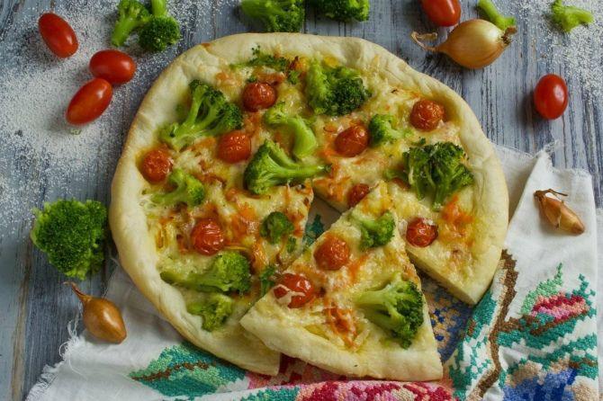 піца для посту