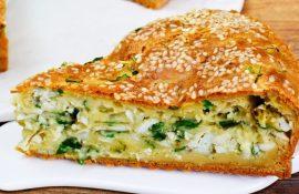 соленый пирог