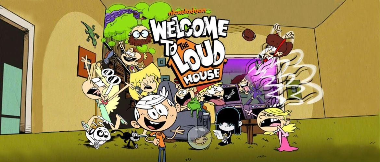 Мультфильм «The Loud House»: когда дом всегда вверх дном!
