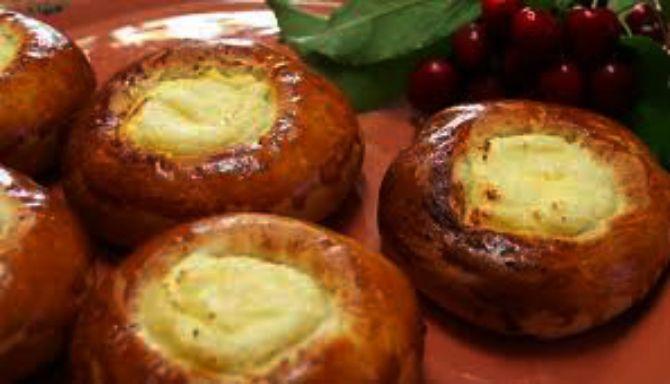 Рецепт ватрушки з сиром