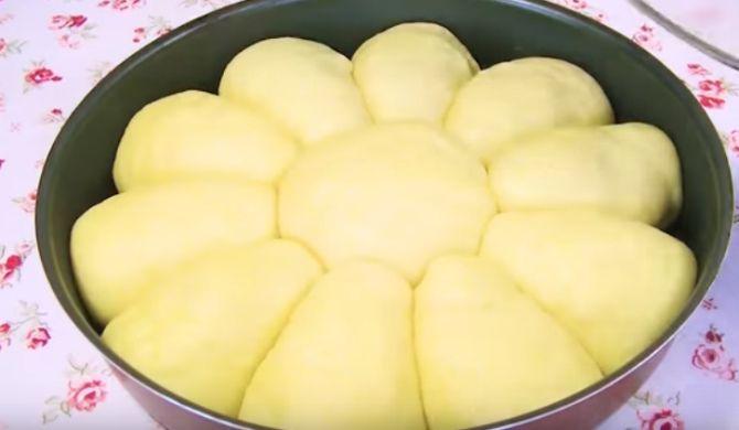 тесто для приготовления яблочного пирога