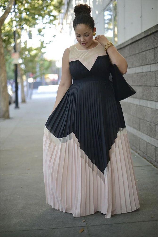 какие платья скрывают живот