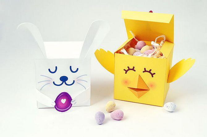 кролик коробка