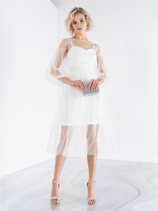 Короткие модели платьев 2020